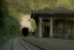 """Ж/д станция """"Псырцха"""". Абхазия."""