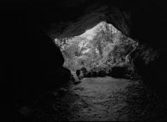 В пещере. Или из пещеры, кому как нравится...